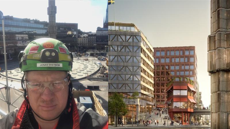 Veidekkes huvudskyddsombud säkrar Sergelhuset med BuildSafe