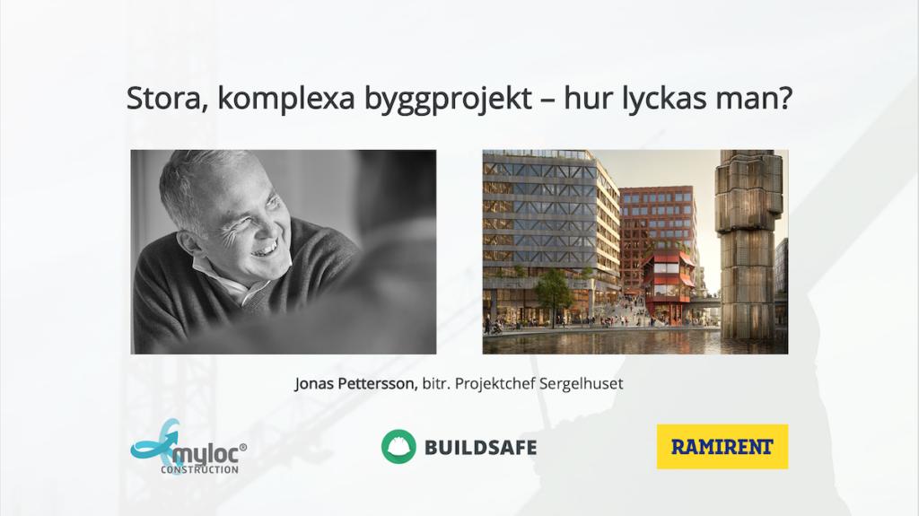 Webinar: Stora, komplexa byggprojekt – hur lyckas man?