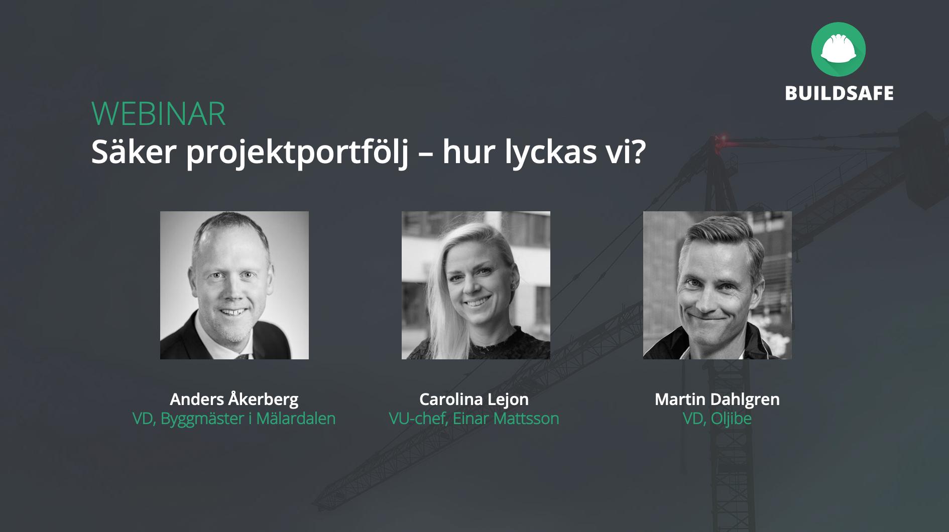 Webinar: säker projektportfölj – hur lyckas vi?