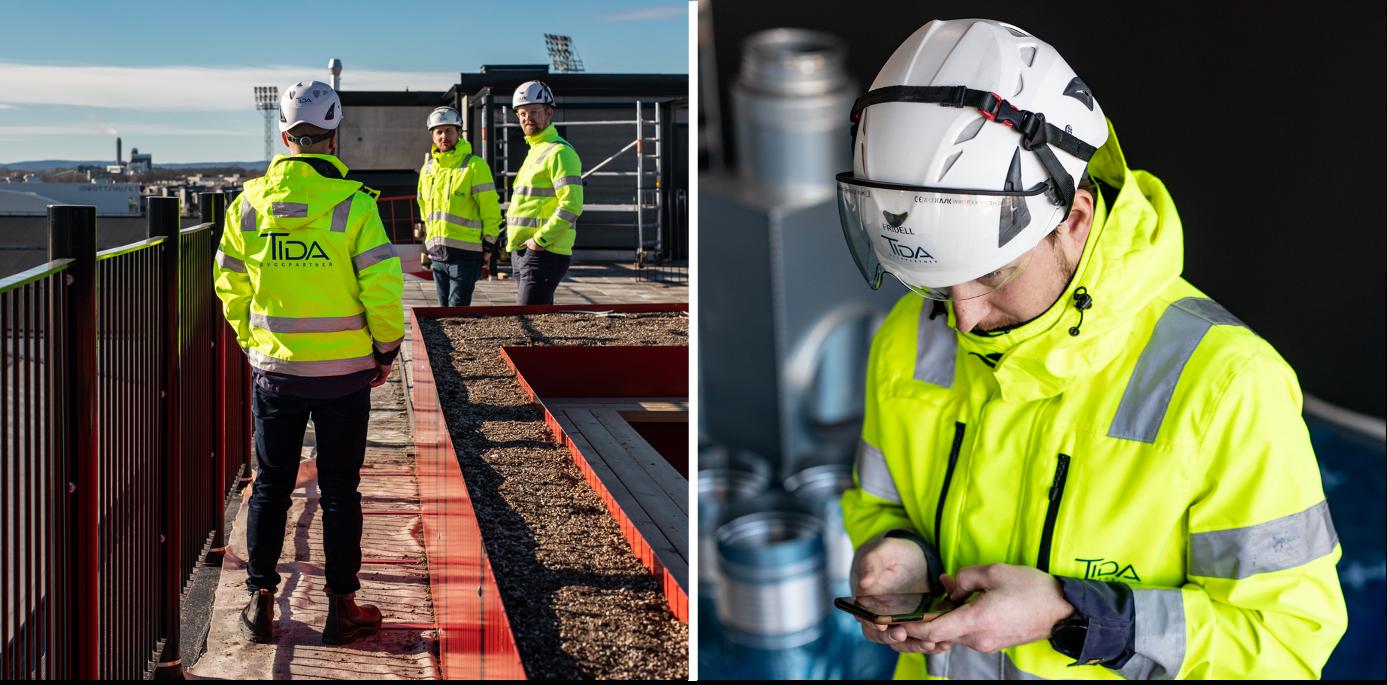 Tida Byggpartner bygger med BuildSafe
